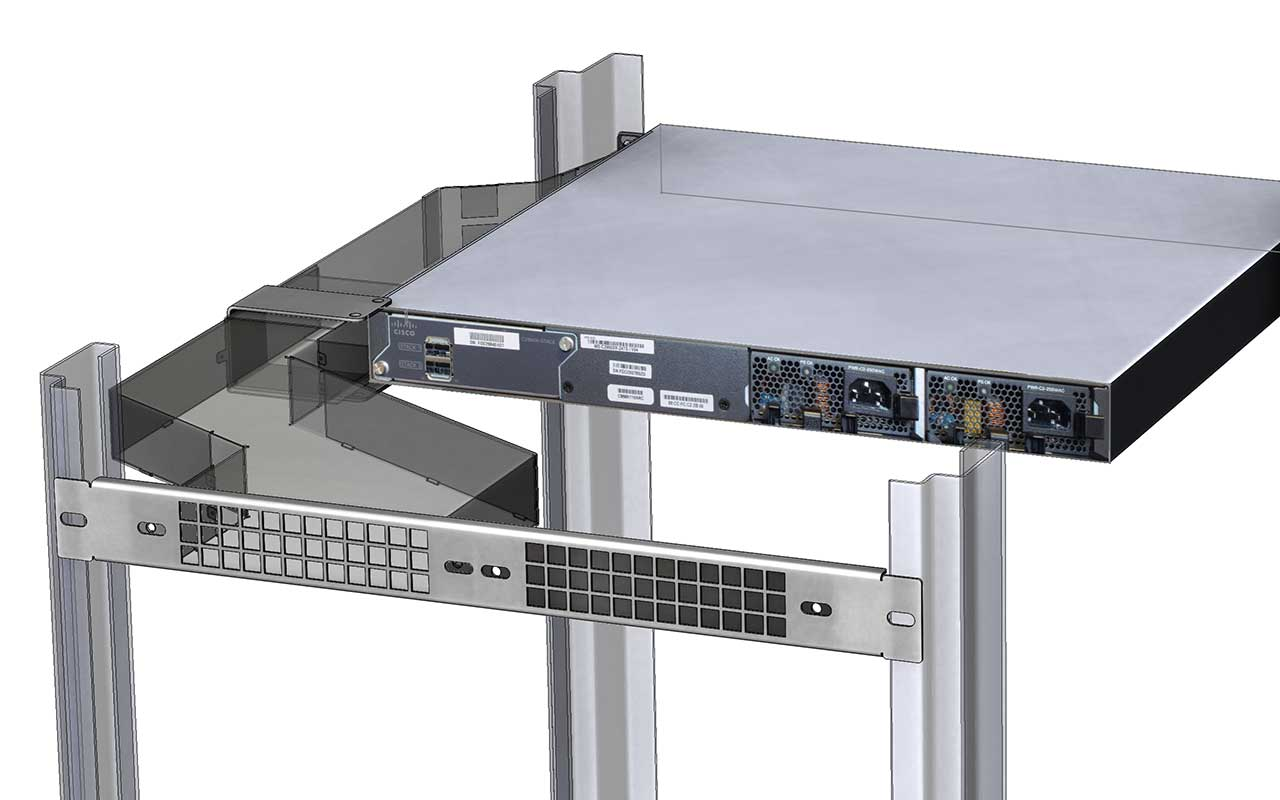 Luftleitsystem Serie 3000 der SIEWO Industrie IT GmbH