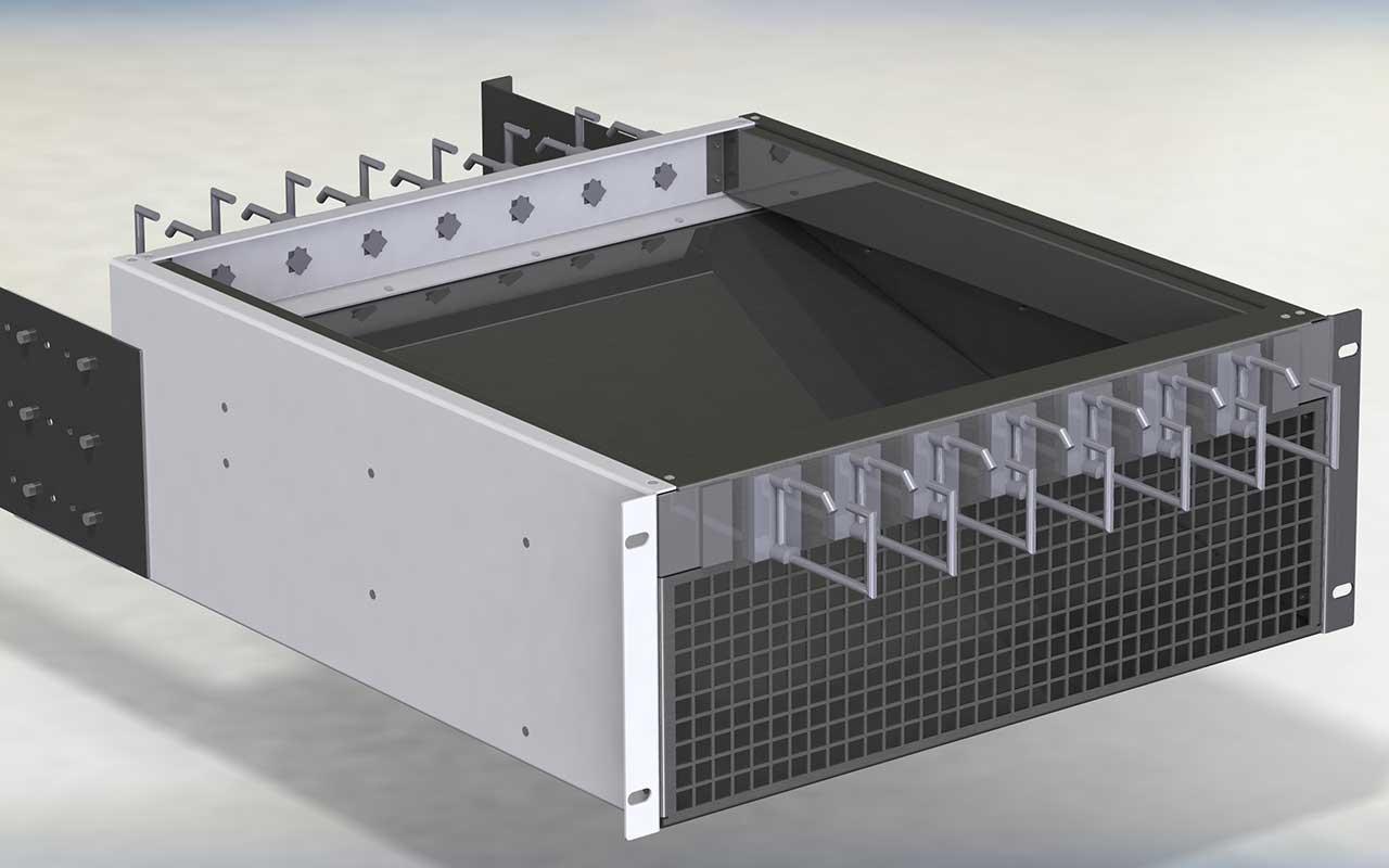 Luftführung im RZ verbessern mit dem Luftleitsystem Serie 8000 der SIEWO Industrie IT GmbH